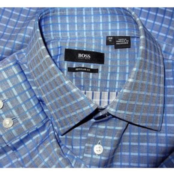 222a76310 Hugo Boss Shirts   New Ls Button Front Enzo Shirt 1538   Poshmark
